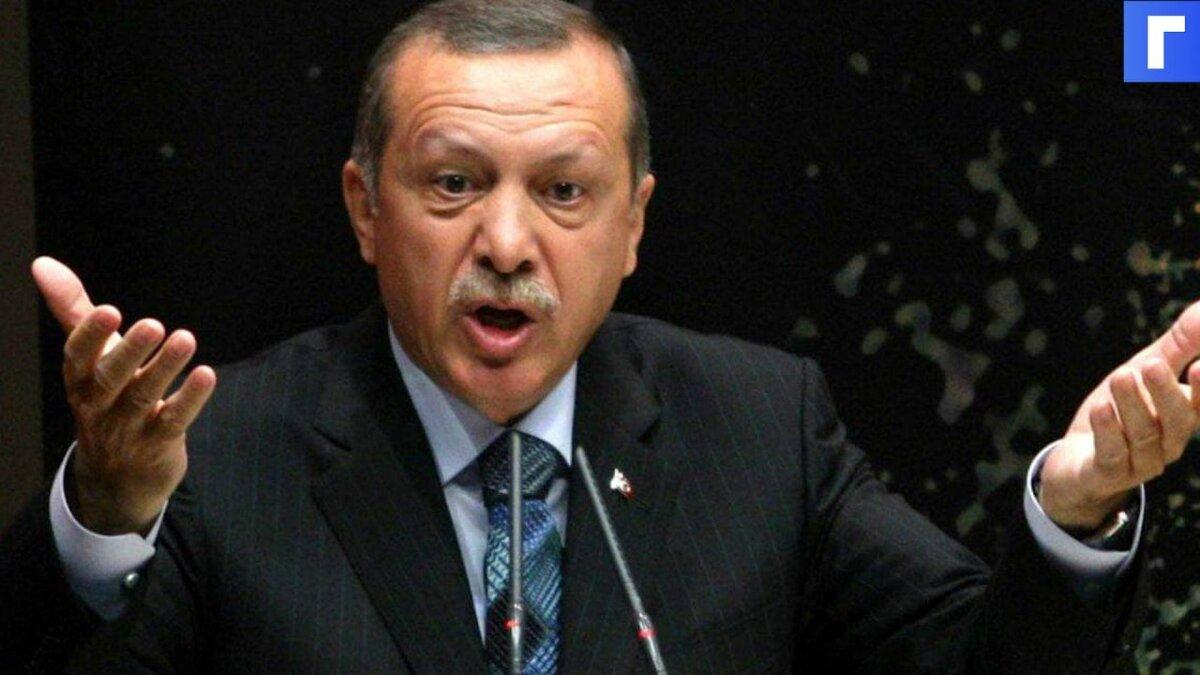 Эрдоган заявил, что Турция не будет мириться с агрессией Израиля