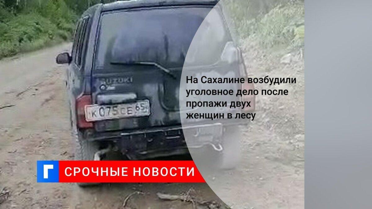 На Сахалине возбудили уголовное дело после пропажи двух женщин в лесу