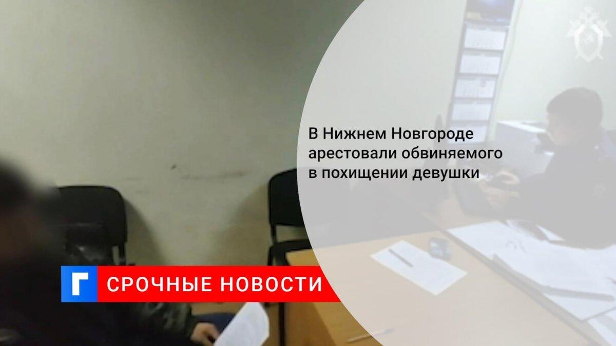В Нижнем Новгороде арестовали обвиняемого в похищении девушки