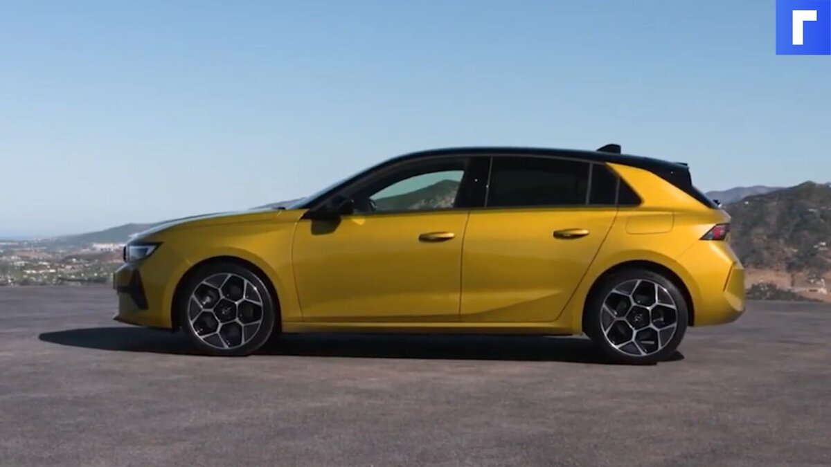 Opel показала хэтчбек Astra шестого поколения