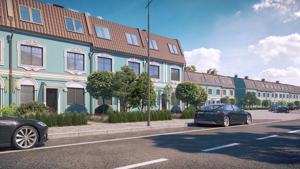 Три этажа полезной площади для жилья и комфорта