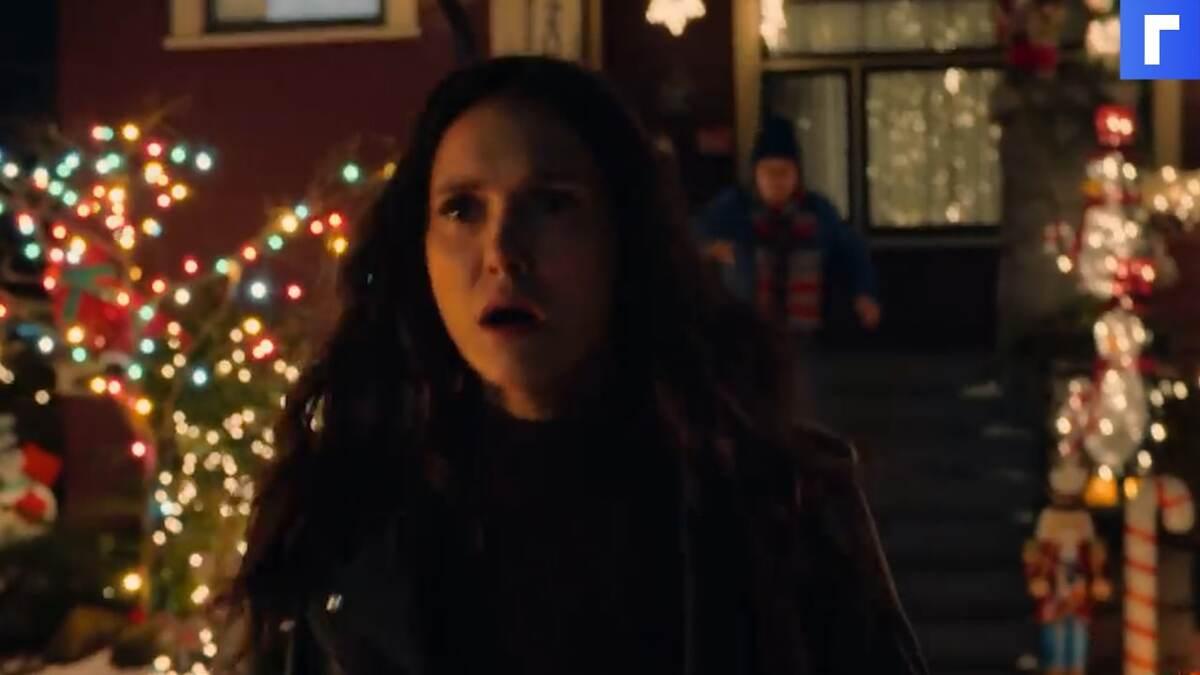 Netflix выпустил трейлер рождественского ромкома с Ниной Добрев