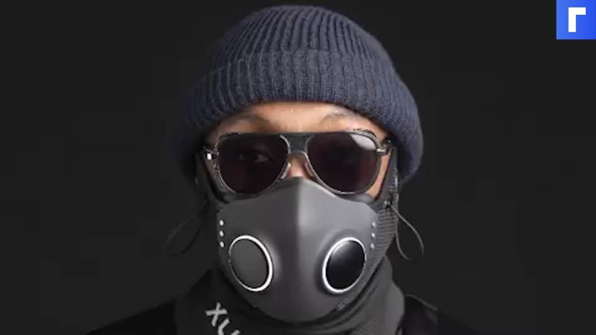 Рэпер Will.i.am презентовал медицинскую маску со встроенными наушниками