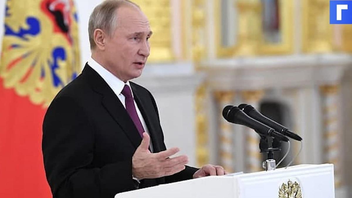 Путин заявил о выполнении в полном объеме плановых мероприятий в армии