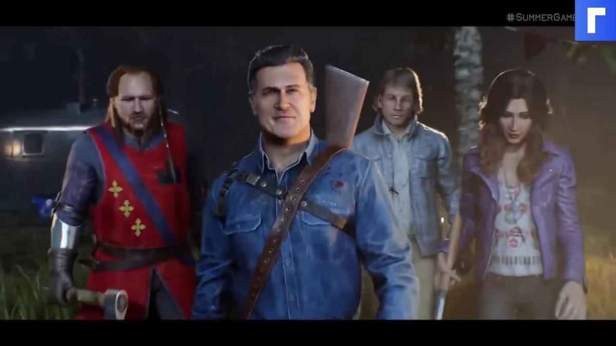 В сети появился геймплейный трейлер Evil Dead: The Game