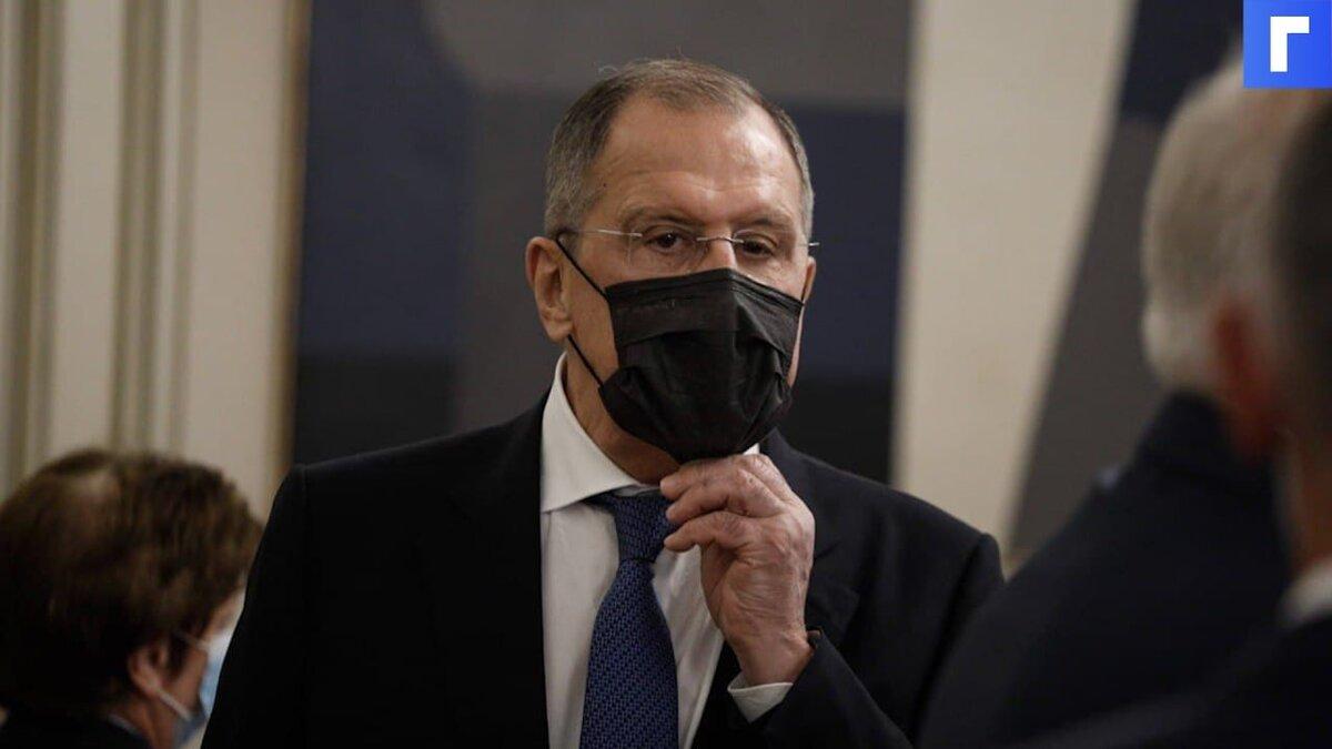Лавров: Россия не примет никаких мер, пока обострение в Афганистане не выходит за его границы