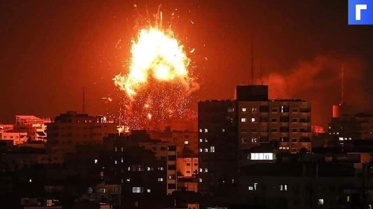 Армия Израиля сообщила о начале воздушной и наземной атаки в секторе Газа