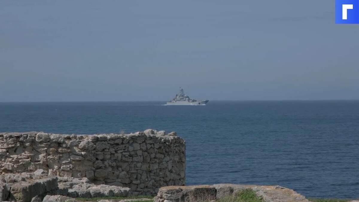 Флот РФ начал масштабные учения в Тихом океане