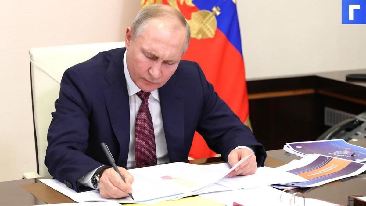 Путин подписал закон о бесплатном газопроводе до границ земельных участков