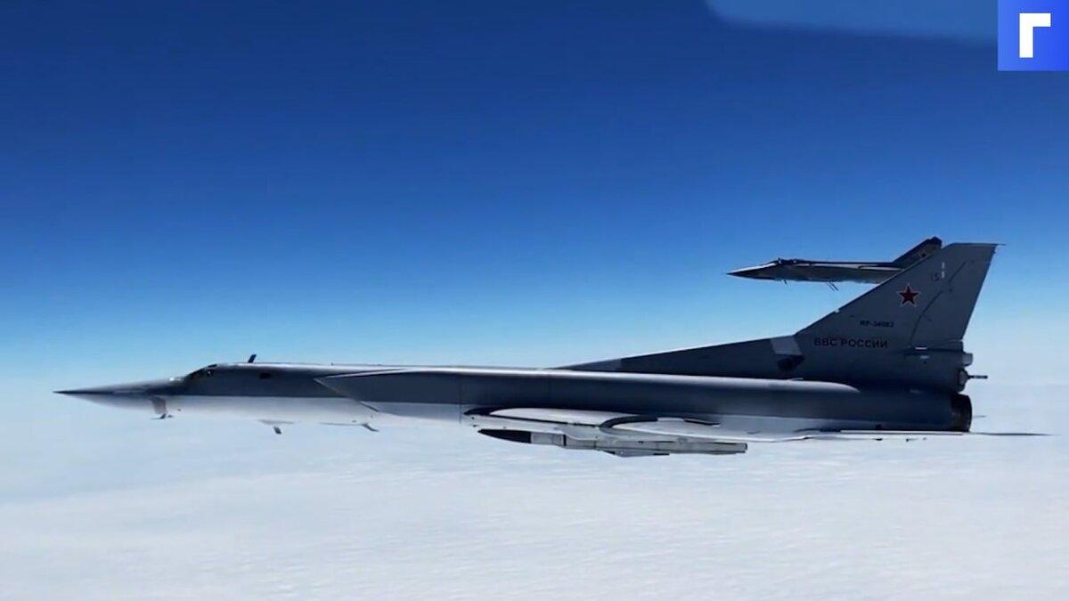Минобороны РФ сообщило об иностранной авиации в районе российских учений в Тихом океане