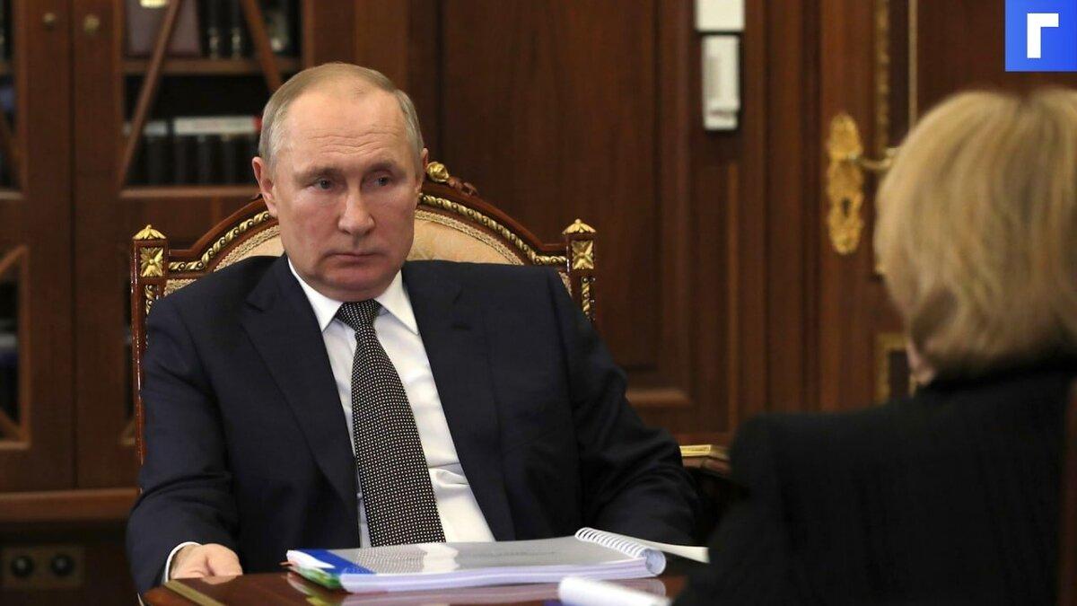 Путин заявил об эффективности российской вакцины против мутаций коронавируса