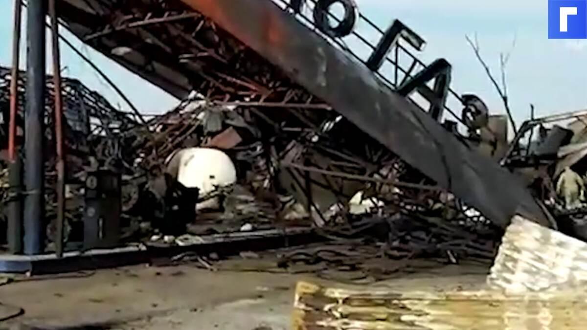 После взрыва АЗС в Новосибирске пересмотрят правила безопасности