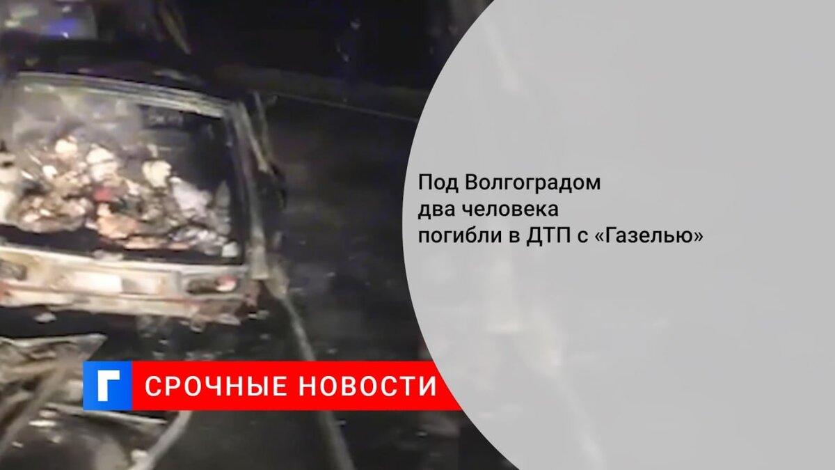 Под Волгоградом два человека погибли в ДТП с «Газелью»