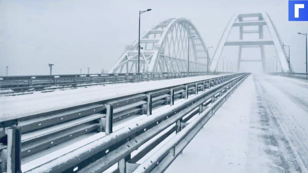 Возобновлено движение по Крымскому мосту в одну сторону
