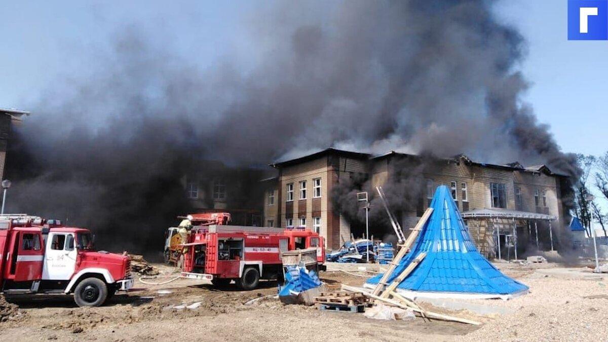 В Краснодарском крае вспыхнул новый детский сад