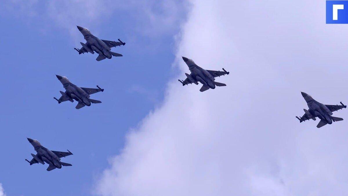 Израильские истребители нанесли удар по штабу службы внутренней безопасности ХАМАС