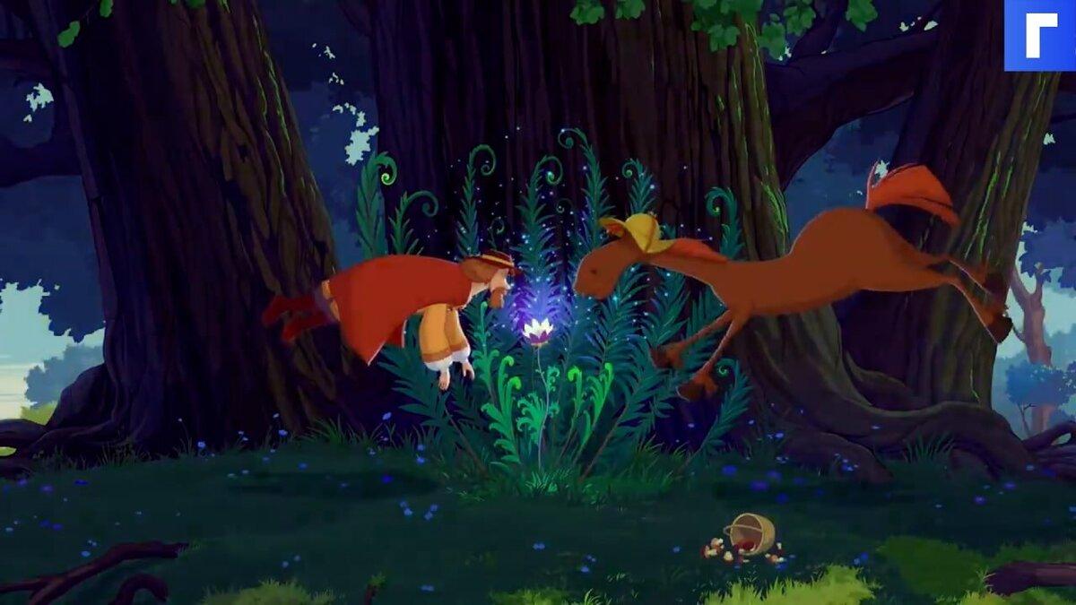 Вышел трейлер мультфильма «Три богатыря и конь на троне»