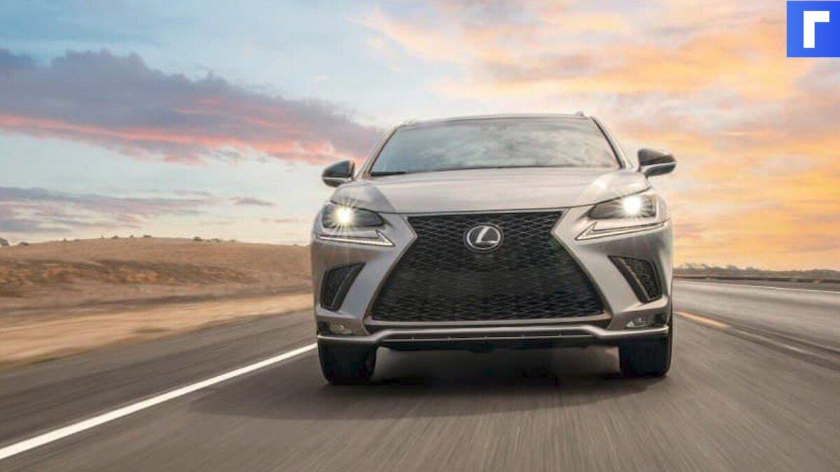 Lexus показал кроссовер NX 2022 года на официальном видео