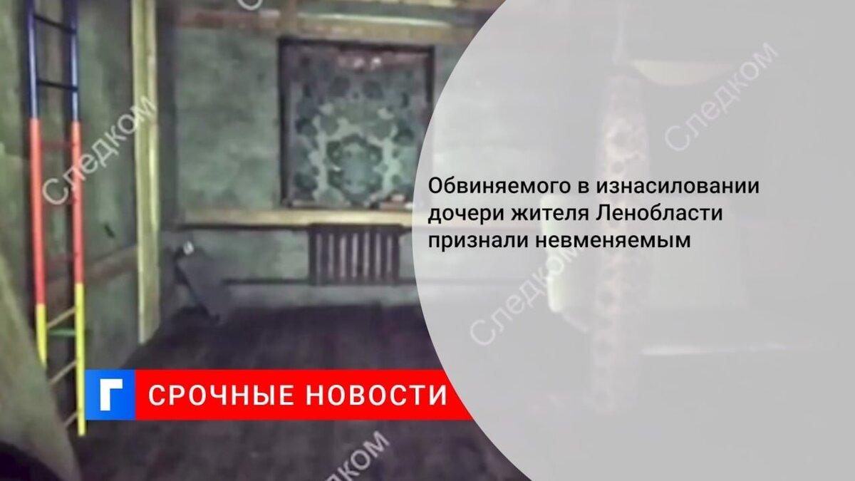 Обвиняемого в изнасиловании дочери жителя Ленобласти признали невменяемым