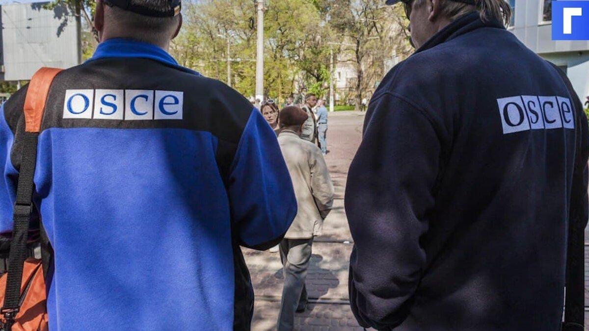 Наблюдатели ОБСЕ обнаружили в Донбассе разобранные украинские танки