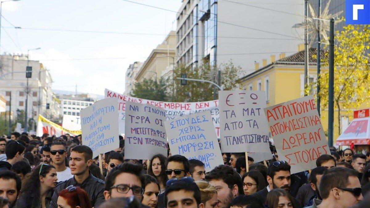 На Кипре прошли беспорядки из-за ковидных сертификатов