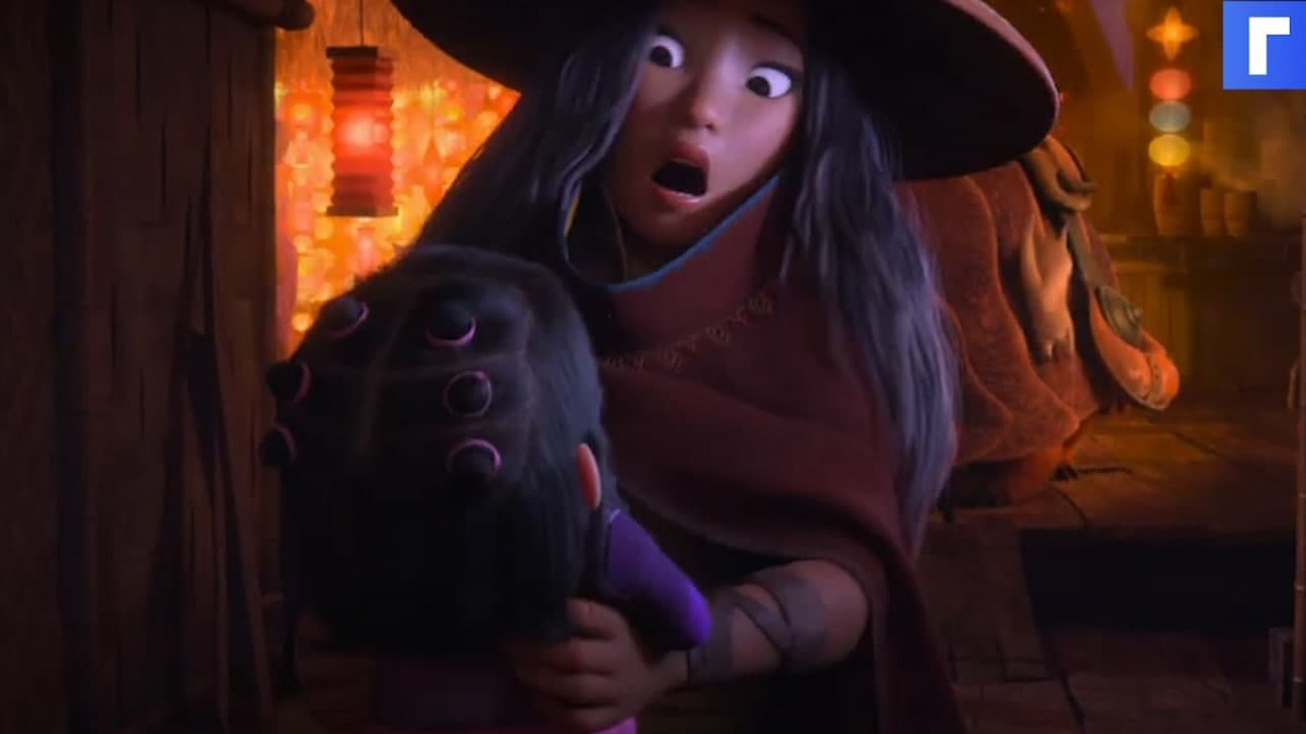 Опубликован трейлер нового мультфильма Disney «Райя и последний дракон»