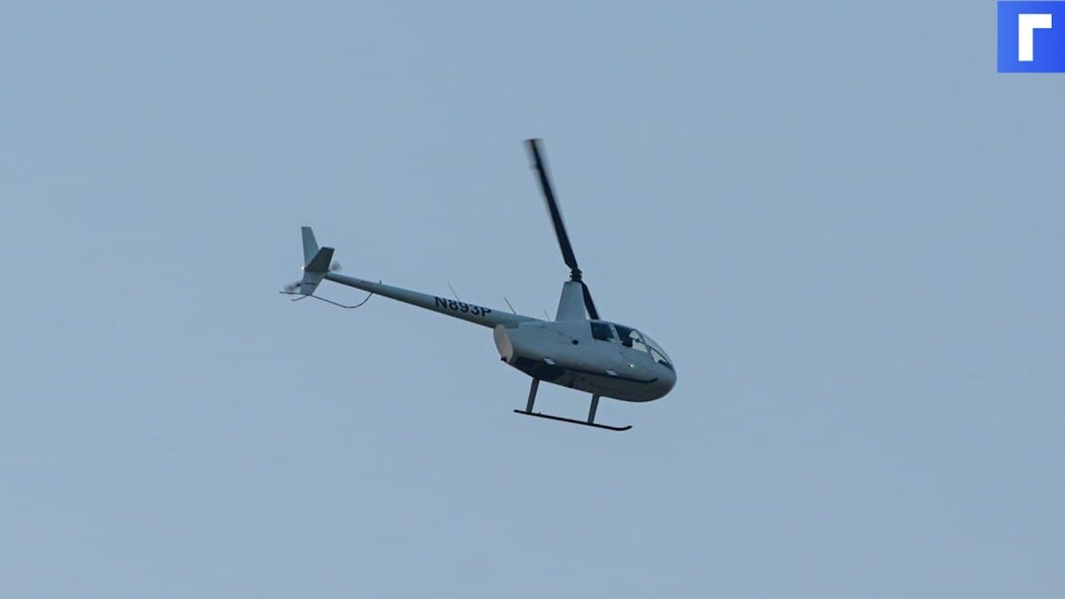 Пострадавших при крушении вертолета под Архангельском отправили в больницу