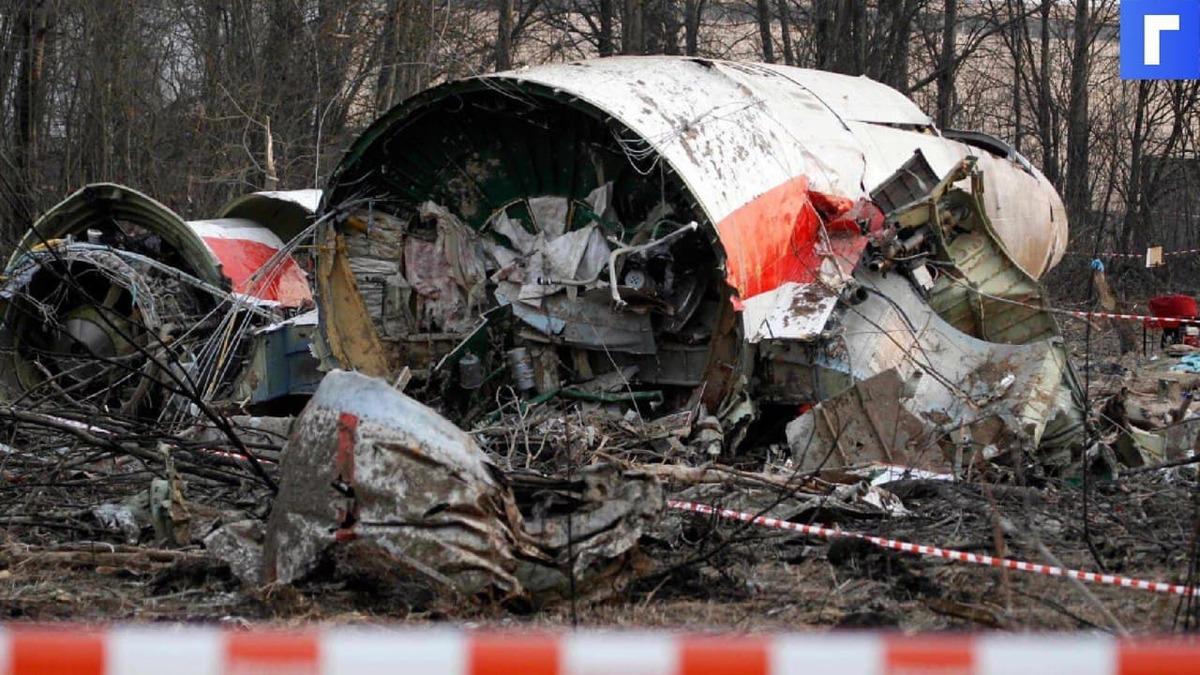 В МИД прокомментировали требования вернуть обломки самолета Качиньского