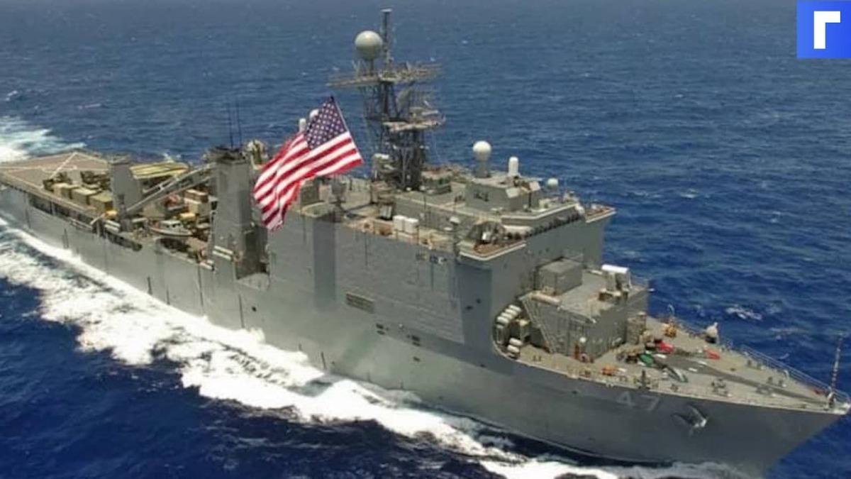 США сообщили Турции о прохождении двух кораблей в Черное море