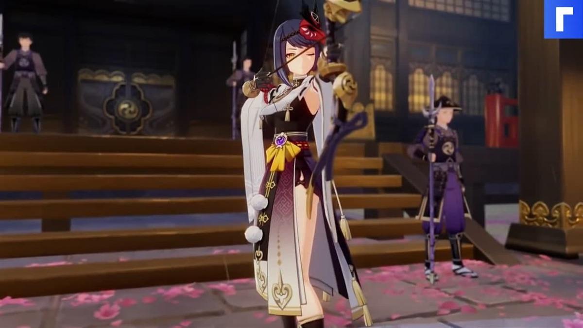 Лучница Кудзё Сара станет новым персонажем Genshin Impact