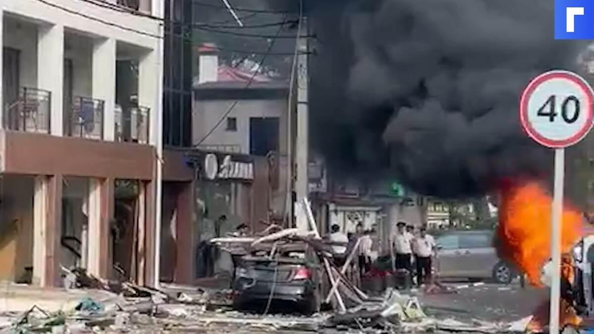 Один человек погиб и четверо пострадали при взрыве в отеле в Геленджике