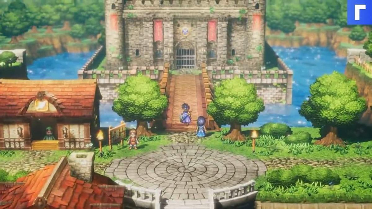 Square Enix представила Dragon Quest III HD-2D Remake