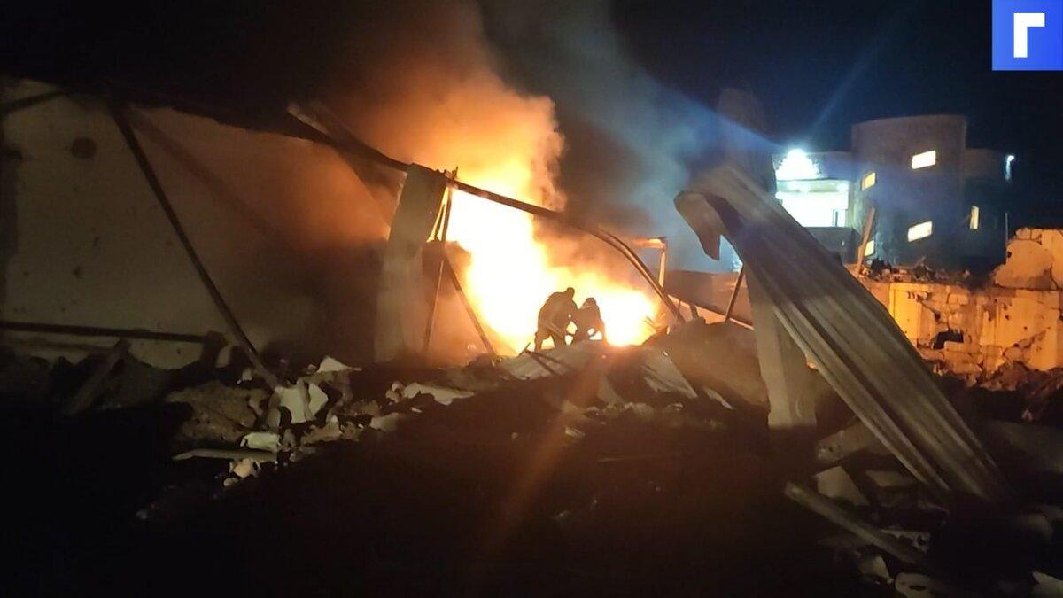При израильском авиаударе по Сирии погиб мирный житель
