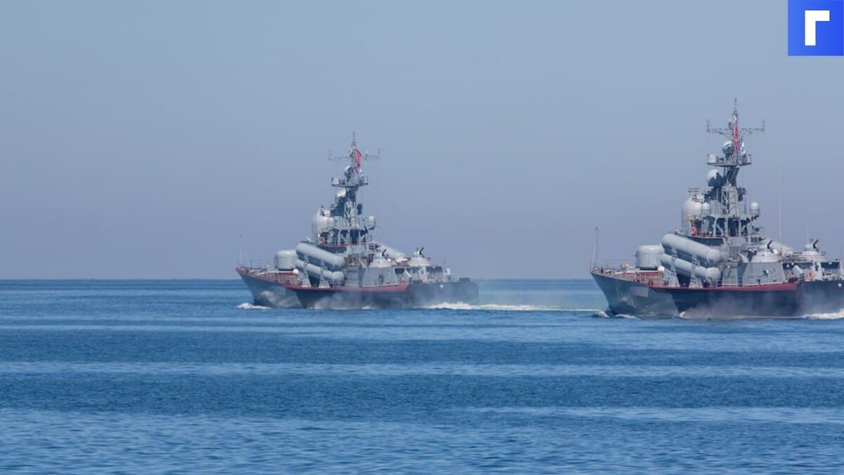 Корабли ВМФ России вышли в море в районе Крыма на межвидовые учения
