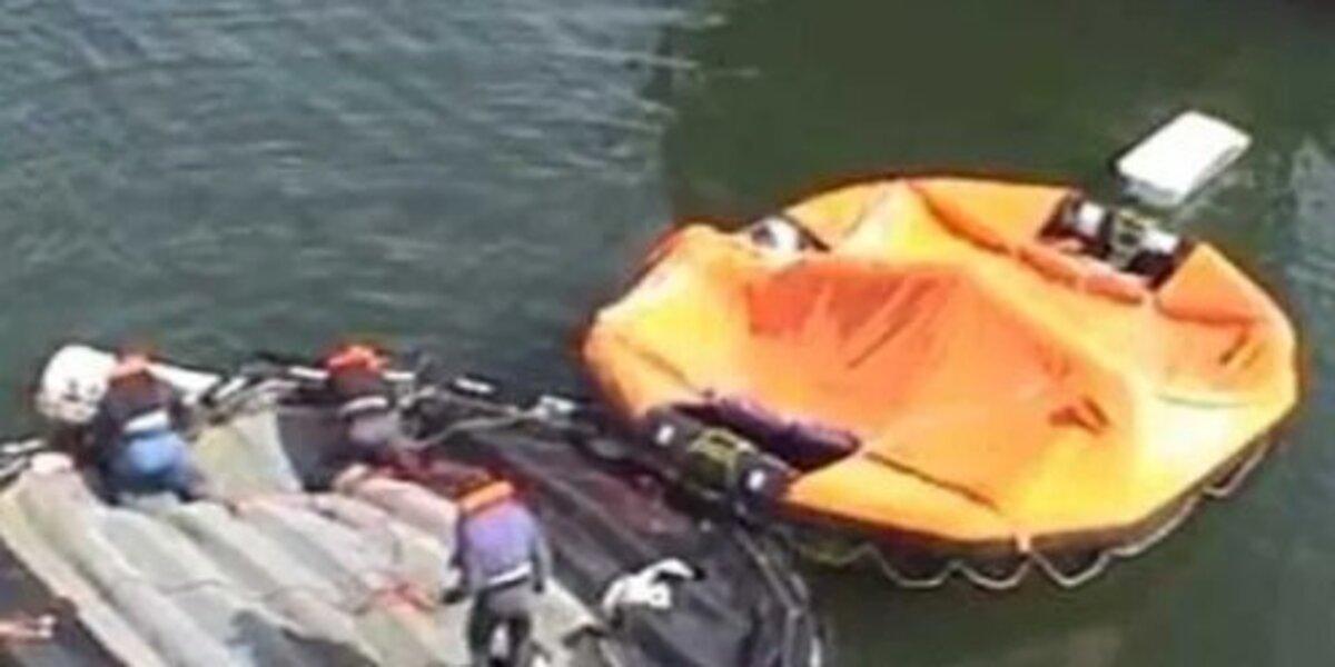 Женщина, спасшаяся с затонувшего в Белом море судна, скончалась от переохлаждения