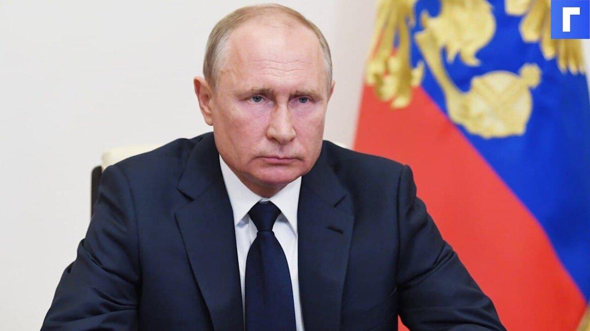 Путин порекомендовал россиянам ставить прививки от коронавируса