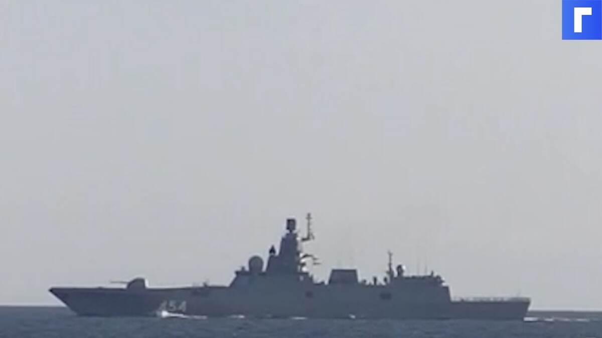 Фрегат «Адмирал Горшков» успешно поразил ракетой «Циркон» из Белого моря цель в Баренцевом море