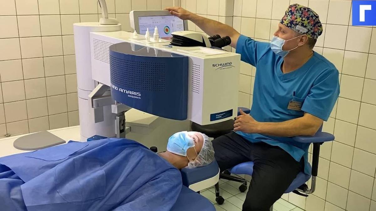 В Петербурге показали новейшее оборудование, улучшающее зрение за «считаные секунды»