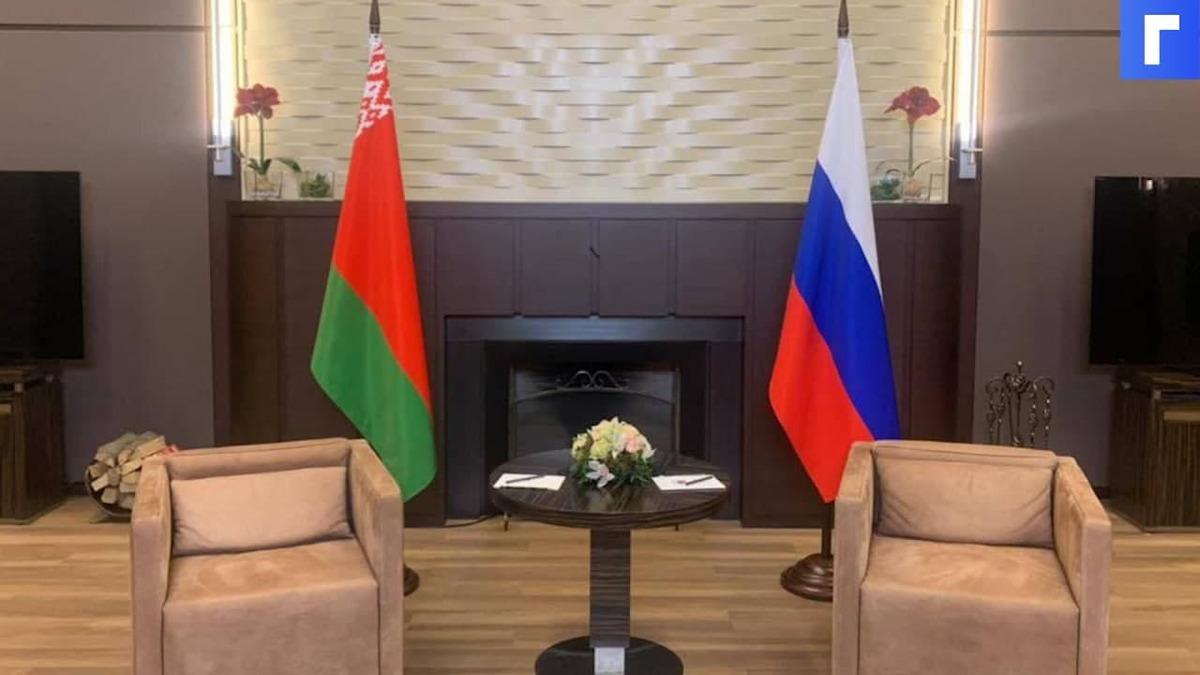 В Сочи началась встреча Путина и Лукашенко