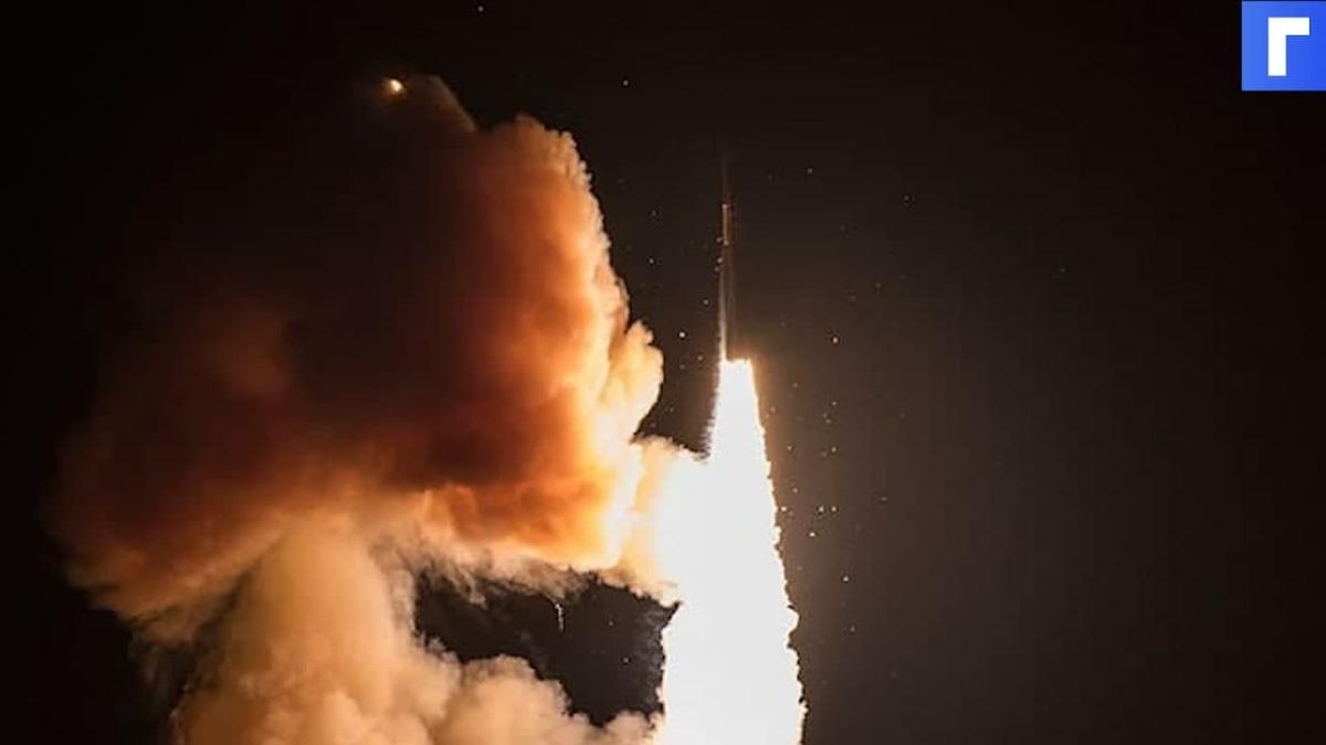 США испытают баллистическую ракету Minuteman III