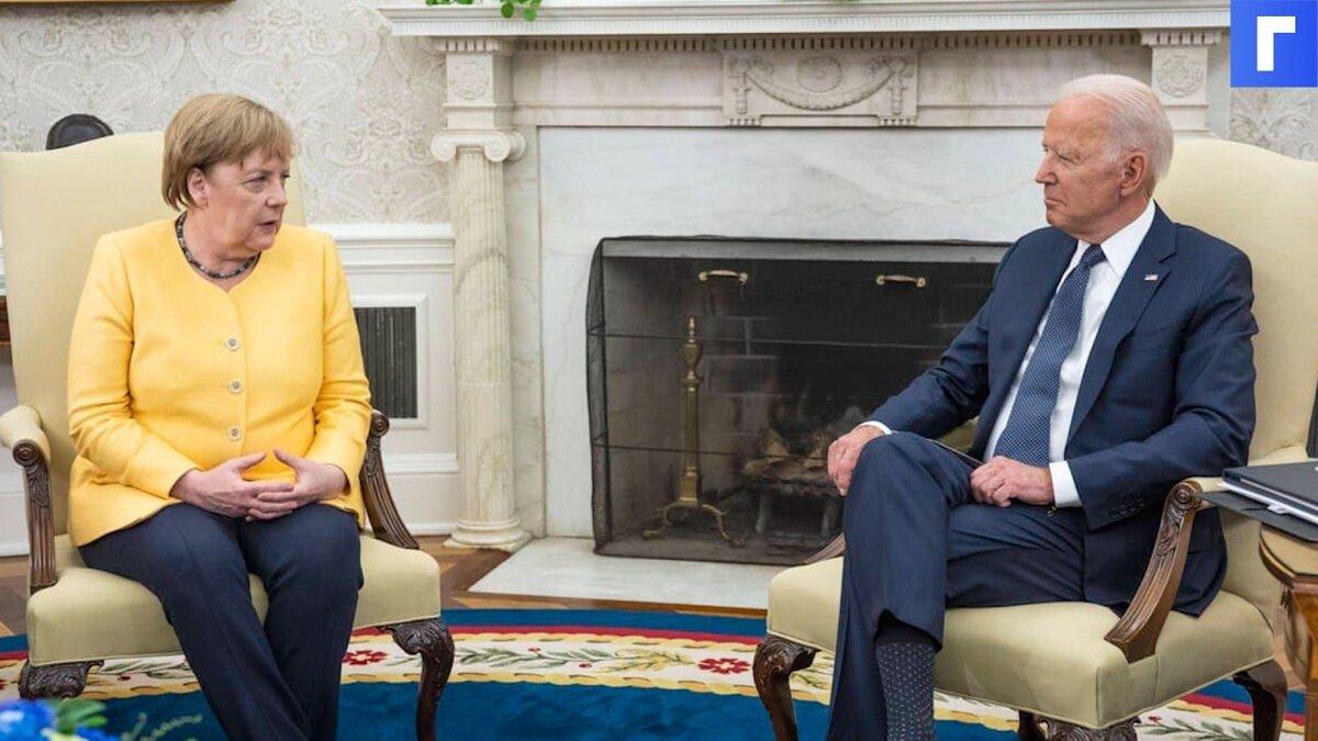 В офисе Зеленского обвинили Меркель в сдаче интересов Украины в пользу России