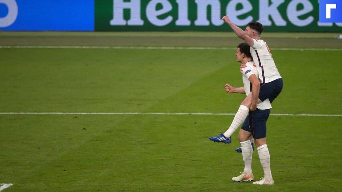 Англия обыграла Данию и впервые вышла в финал Евро