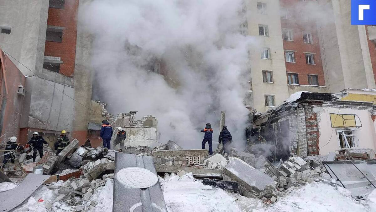 В Нижнем Новгороде произошел взрыв газа в многоэтажном доме