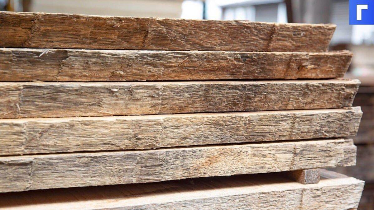 Россия введет пошлину на экспорт отдельных видов древесины