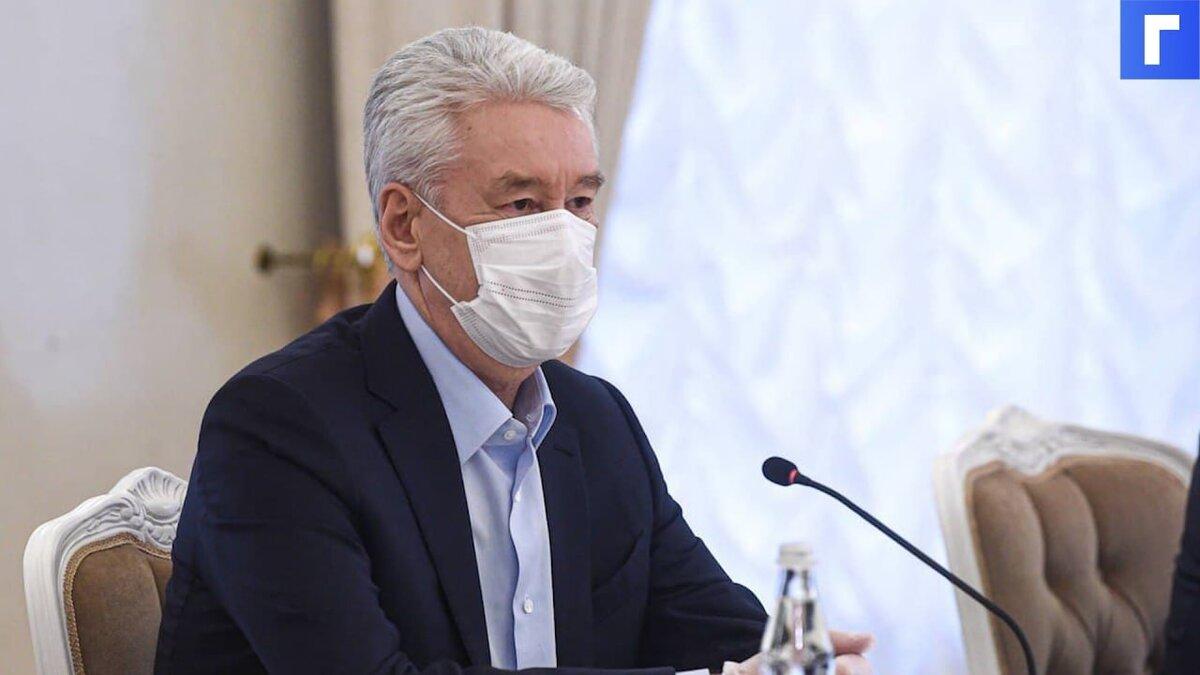 Собянин сообщил о взрывном росте заболеваемости COVID-19