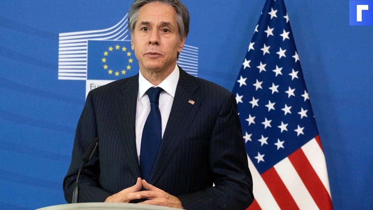 Госсекретарь США Блинкен оценил возможность вступления Украины в НАТО
