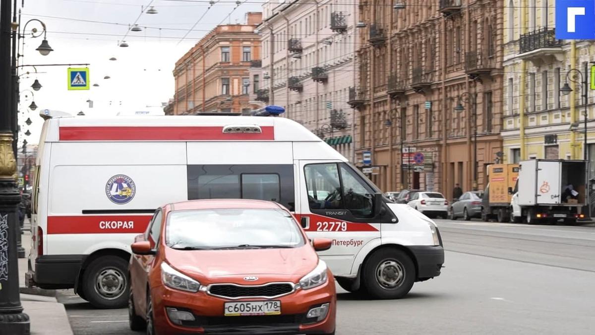 Три человека пострадали в ДТП на проспекте Просвещения в Петербурге