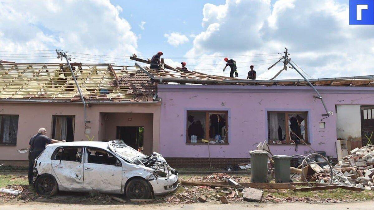 Торнадо в Чехии унесло жизни трех человек