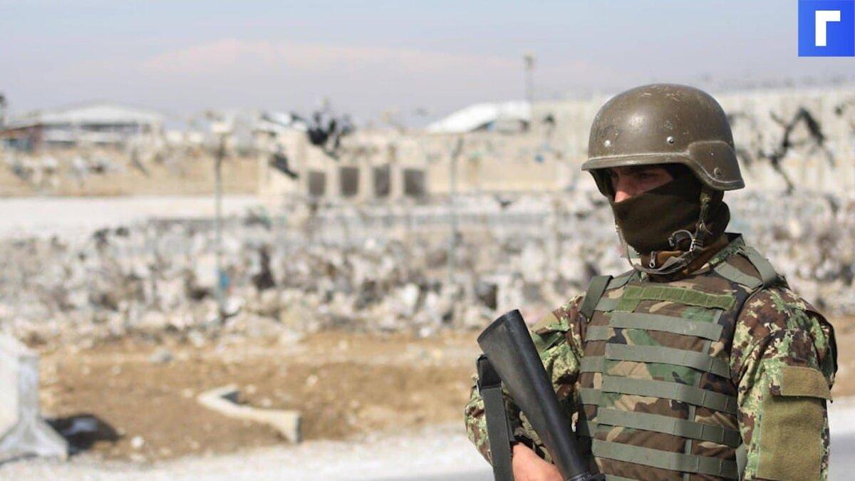 Более тысячи солдат из Афганистана перешли границу Таджикистана