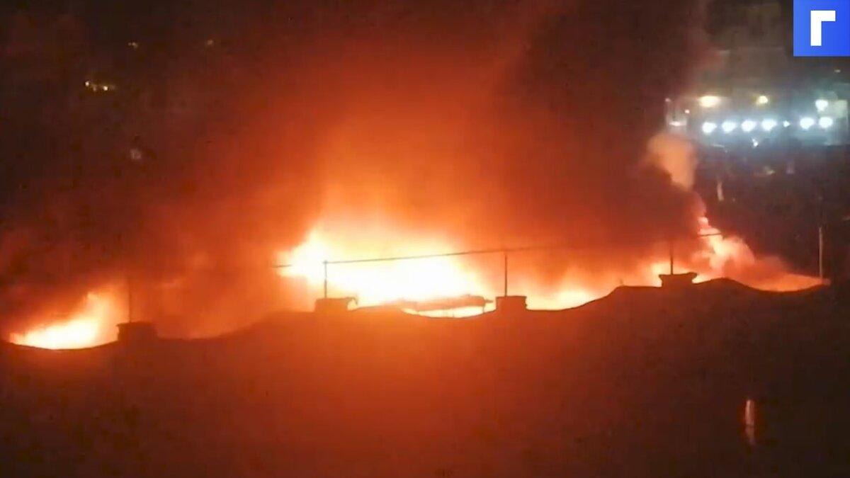 Число жертв пожара в «ковидной» больнице Ирака выросло до 60